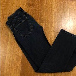 Citizens straight leg jeans dark rinse